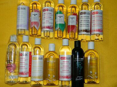 Großes Set 5 Flaschen Gemischt Gleitgel & Massage ÖL Massageöl von Amor UVP 160€