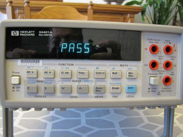 HP 34401A multimeter 6.5 digit