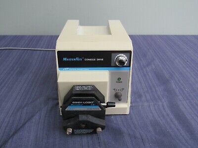 Cole Parmer Masterflex 7521-50 Console Drive Pump W Easy-load Ls Head 7518-60