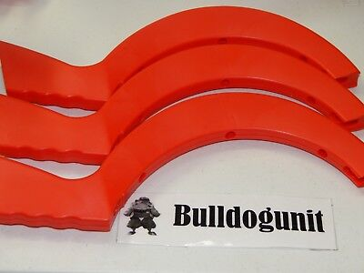2012 Boom Boom Balloon Game Replacement 3 Red Frame Pieces Only Parts Lot