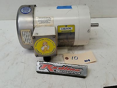 Leeson 2hp Motor Washguard 3 Phase 1725rpm 208-230460v