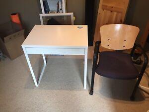 Ikea desk/chair