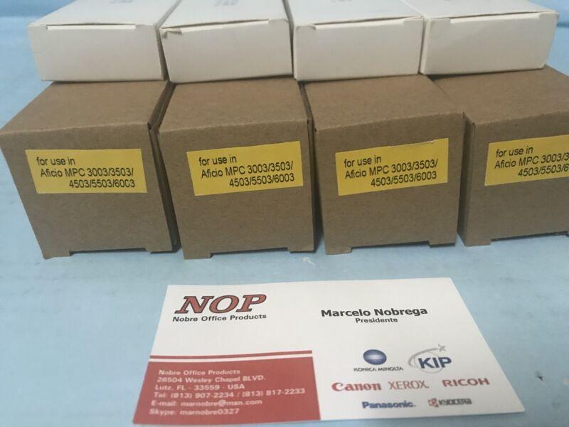 4 OPC DRUM & 4 BLADE Ricoh MP C6003 C5503 C4503 C3503 C3003 MPC6003 MPC5503