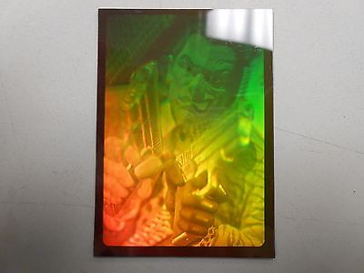 1995 Fleer BATMAN FOREVER HOLOGRAM CHASE CARD of TWO FACE!!! NM! LOOK!