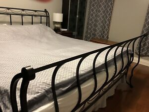 King size bed headboard & footboard