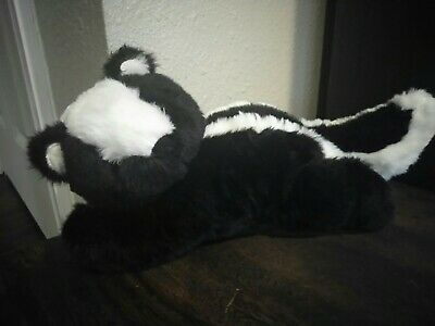 Little Miracles Animal Hugs Skunk plush stuffed animal forest baby lovey soft ](Skunk Stuffed Animal)