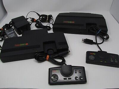 Turbografx 16 Console System with 1 Controller Cleaned & Tested Working