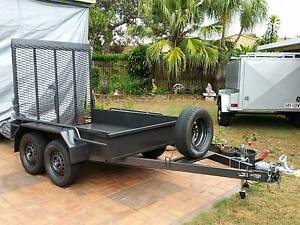 NEW<> EXTREME H/DUTY 2TON PLANT MACHINERY / RIDE ON MOWER TRAILER Brisbane Region Preview