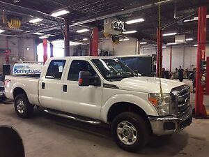 2011 Ford Super Duty F250 4x4 6.2 liter  gas