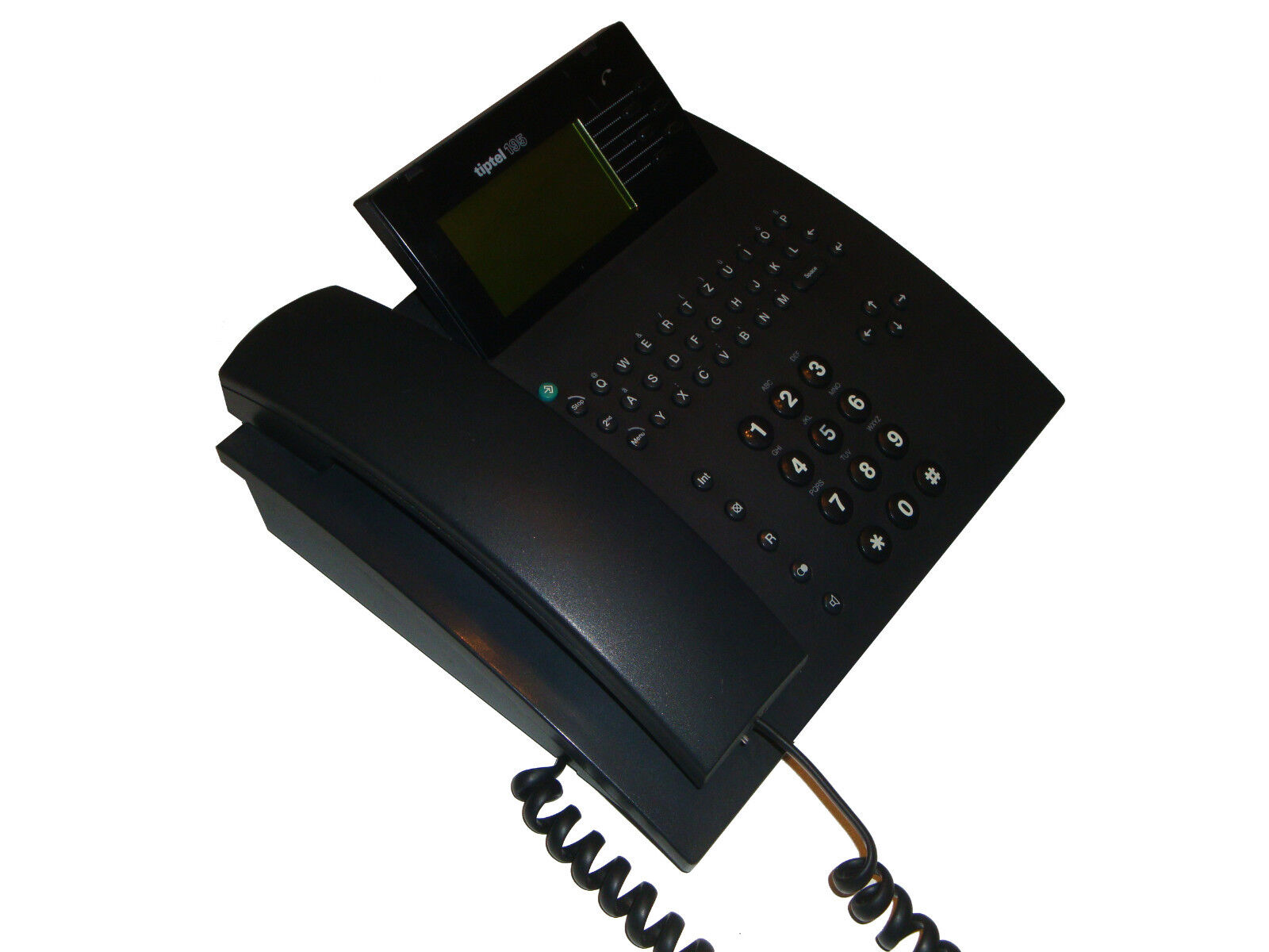 Tiptel 195 Telefono ISDN Comfort con anrufbeanworter COME NUOVO 57