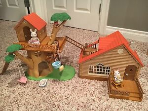 Calico Critter Tree House & Cabin