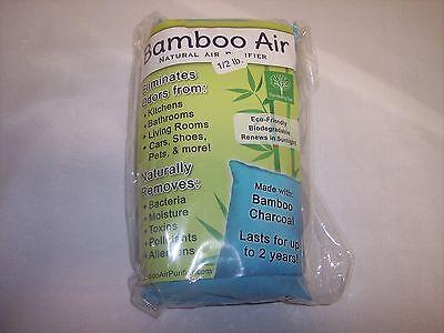 Bamboo Air Natural Air Purifier,Eco-Friendly, Biodegradabe, Renews in Sunlight