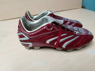 Adidas Traxion Youth Boys Red Outdoor Soccer Cleat Size 4 (FR 36)