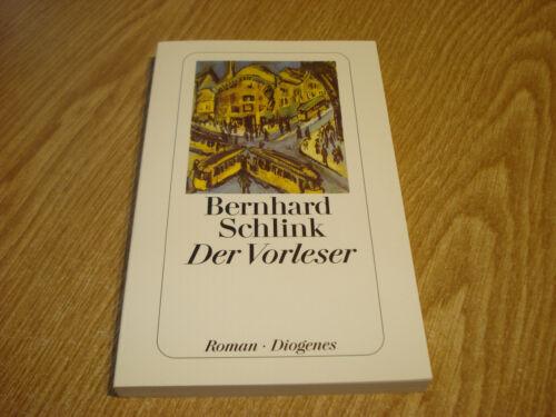 Buch #1023 Bernhard Schlink - Der Vorleser Diogenes