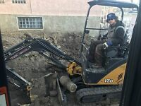Bobcat, Mini excavator, large excavator, dump truck *best rates*