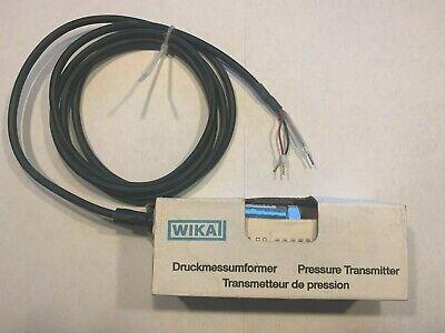 Wika P4238986 Pressure Transmitter E-10-a-pcl-nb-zg2x67-zz