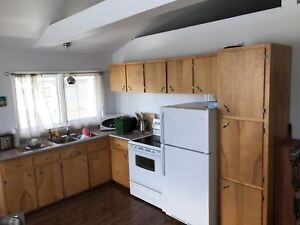 Used kitchen cabinets - FREE.