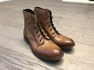 Women's Leather Boots - Size 7.5