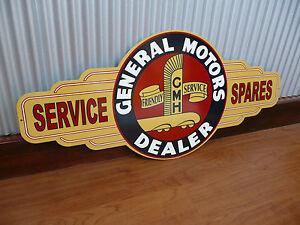 Holden Sign General Motors dealer Metal Tin bar garage GMH Suit EH FJ owner