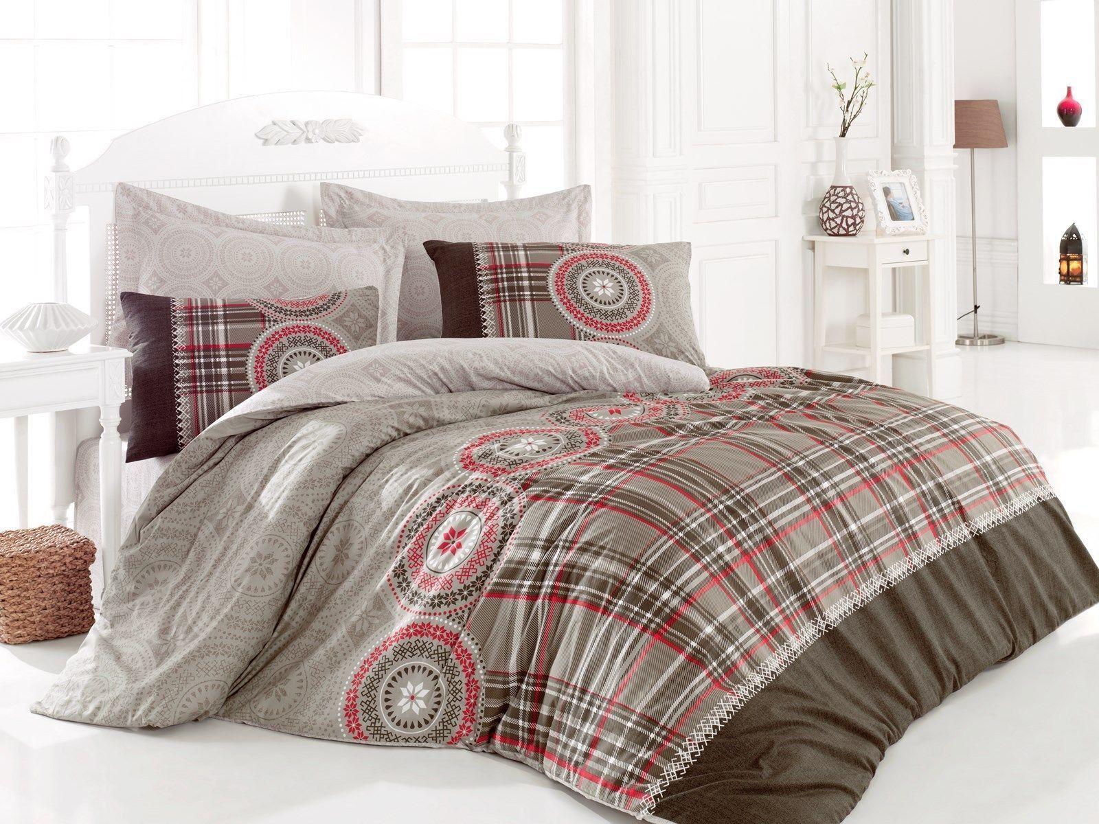 floral duvet cover 100 cotton soft bedding set reversible queen king ebay. Black Bedroom Furniture Sets. Home Design Ideas