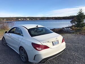 2014 Mercedes-Benz CLA 250 with AMG package