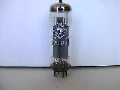 PL 82 Röhre Telefunken Röhre PL82 Telefunken geprüft sehr gut