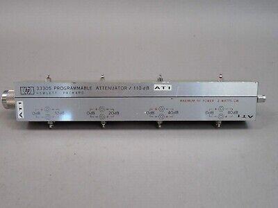 Hp 33305 Programmable Attenuator 110db