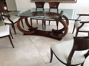 Dinning Table 6 chairs- Salle a Manger 6 chaises