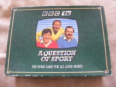 BBC TV 'A QUESTION OF SPORT' HOME GAME VGC for sale  Shipping to Nigeria