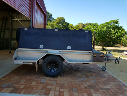 Enclosed loadstar camping tradesman trailer