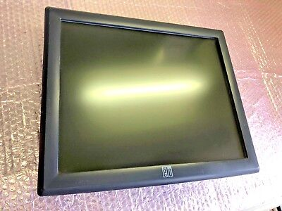 """Elo 1715L 17"""" LCD Touch Screen Monitor  ET1715L-8CWB-1-GY-G Point of Sale Tested"""