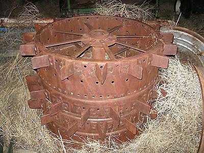 International Harvester Mccormick Deering W-30 Rear Steel Wheels Lugs Ext Ih