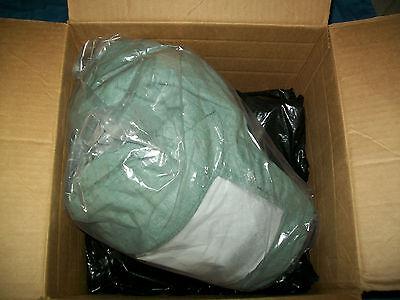 Oberon ARC40 Electric Arc Flash PPE 42cal Bib-Overalls, Coat & Hood 2XL Green