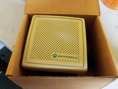 Vintage Motorola Tsn6016b Cb Ham Two-way Two Way Radio Speaker Tancreme Color