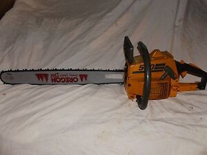 NICE VINTAGE PIONEER PARTNER 500 CHAINSAW 49cc NEW CLUTCH 24