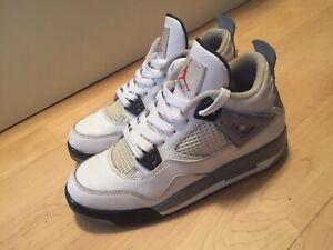Air Jordan retro 4 White Cement size 6y