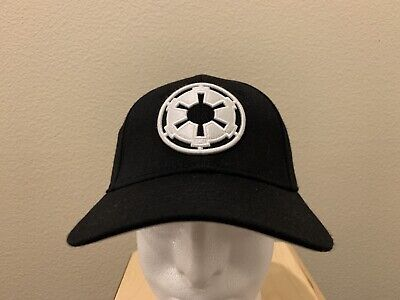 Star Wars VII Black The Force Awakens Galactic Empire Flex Hat Baseball (Empire Baseball Hat)
