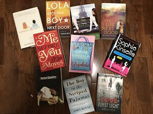 Fiction young adult contemporary books! $5 each
