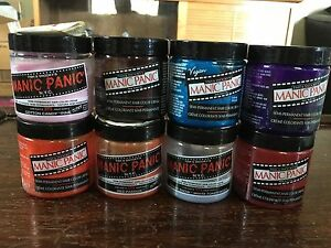 8 Jars of Manic Panic Hair Dye