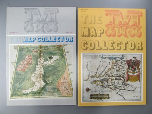 The Map Collector, 16 Issues, 1977-1994