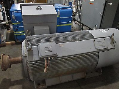Weg Motor Hgf 6811 1000hp 1800rpm 41602300v 124224a Tefc Enclosure Used