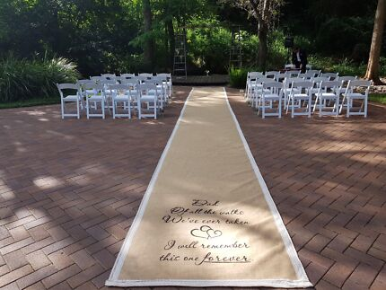 Wedding supplies decorations mason jars hessian runners wedding aisle runner hessian junglespirit