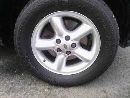 18'' WHEEL AND TYRES SET OF 4 Hobart CBD Hobart City Preview