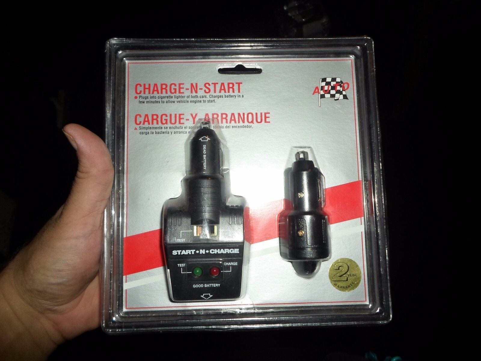 Vintage Charge-N-Start New in package