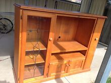 TV/WALL UNIT Solid timber used in good condition Werrington County Penrith Area Preview