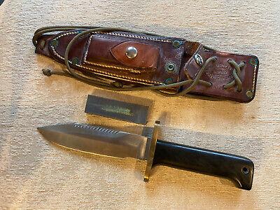 Vintage Randall Knife~ Custom Airman~ Model 15 Solingen Randall Made Knife