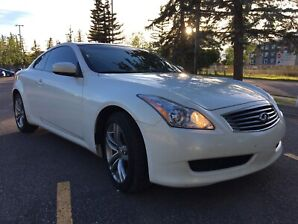 "2009 Infinity G37x ""1 Owner, 122kms, Auto Starter, Winter Tires"""