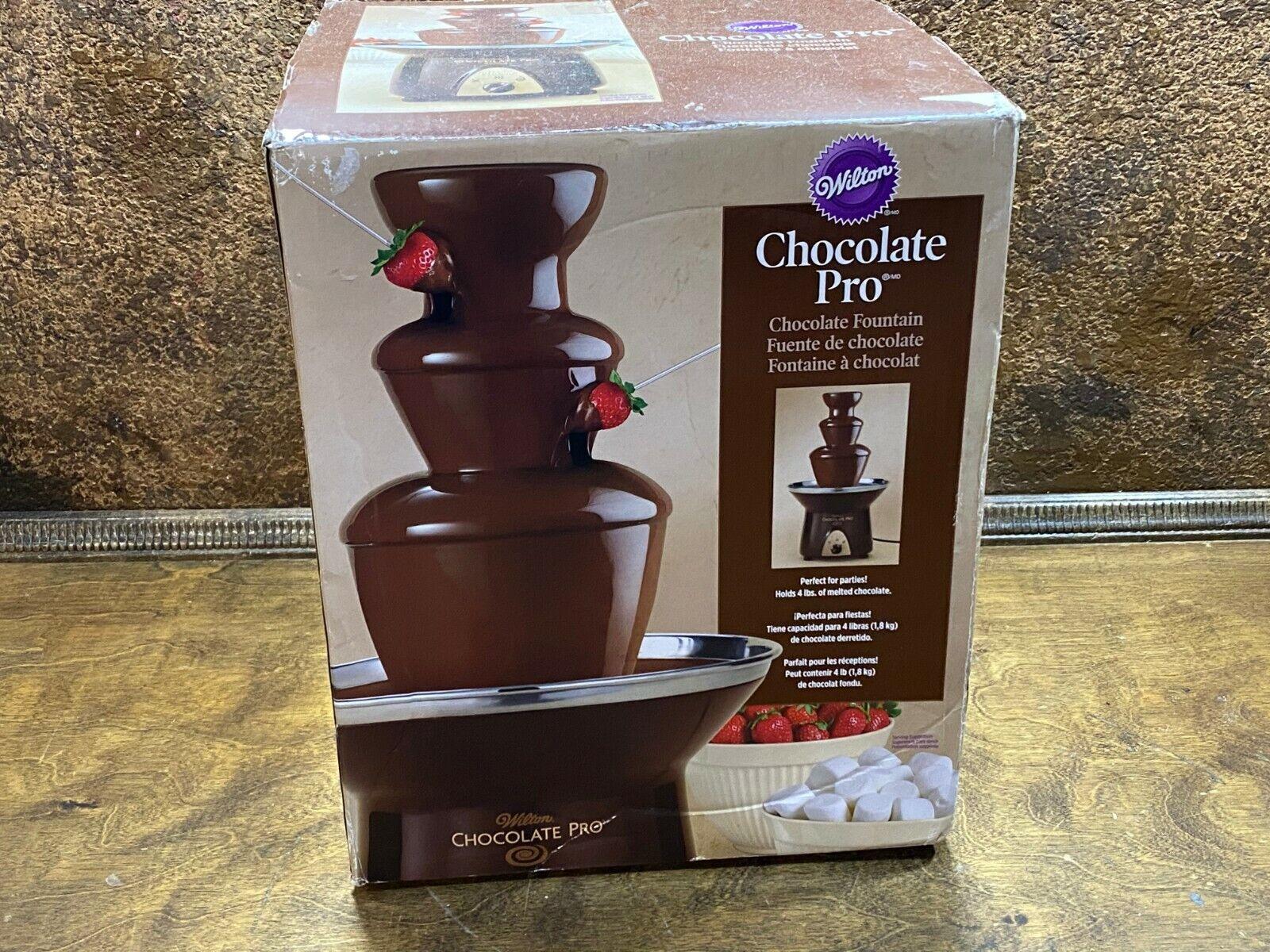 Wilton Chocolate Pro 3-Tier Chocolate Fountain 2104-9008