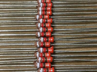 10 Pc Trw Rl07s331g Metal Film Resistor 14w 330 Ohm 250v 2