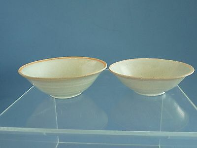 Song Dynasty Pair Ying Qing  Bowls